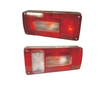 2 (1 pair) x STANDARD REAR TAIL TRAILER LAMPS (TR005) truck lamps caravan